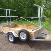 Tandem Canoe or Kayak Trailers for SaleTrailers