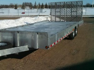 Equipment Hauling Trailer for Sale