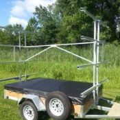 8 Place Kayak Trailer