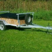 1-2 place canoe or kayak trailer with 16 inch sides