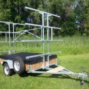 8 Place Canoe Trailer