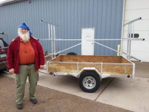 Minnesota Canoe Association Canoe Trailer