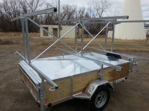 custom canoe trailer