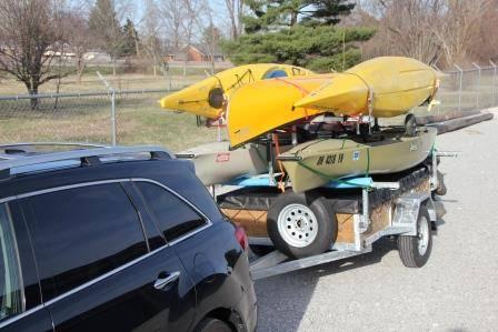 ohio kayak trailers