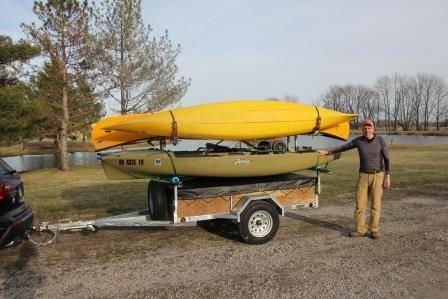 ohio kayak trailer