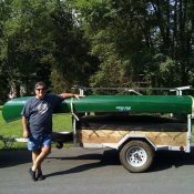 Connecticut Canoe Trailer