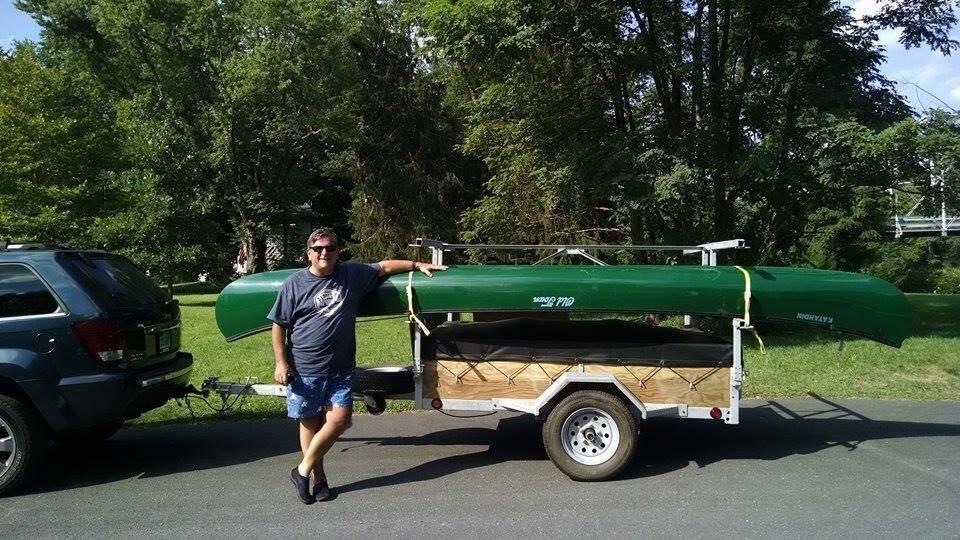 Connecticut Canoe Trailer