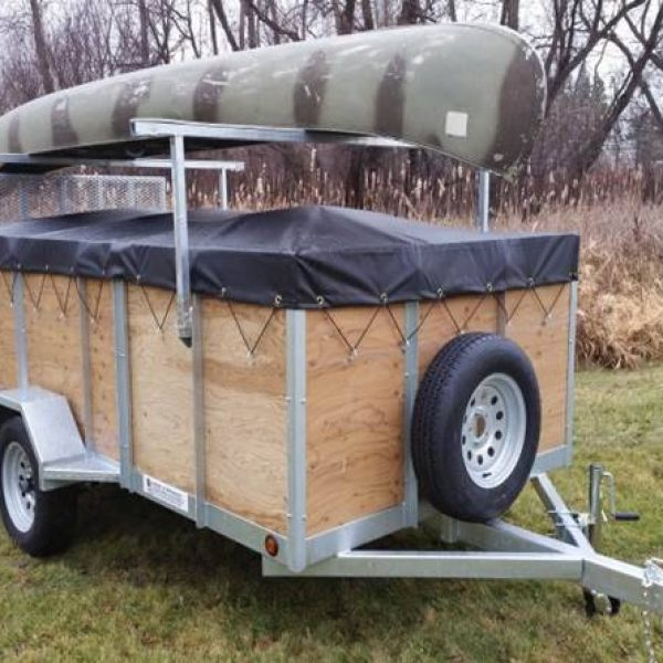 Utility Trailers: 4 Place Kayak & Canoe Utility Trailers For Sale