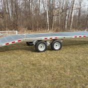SL 7 equipment trailer full side view