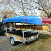 4 place Canoe Trailer