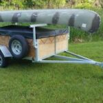 1-2 place 5x8 canoe trailer or kayak trailer with 24 inch sides