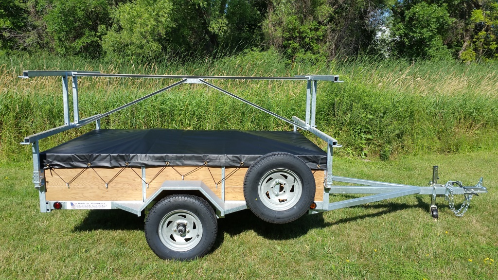 4 Kayak Trailer >> 4 Place Kayak & Canoe Utility Trailers for Sale | Remackel Trailers
