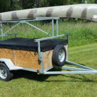 4 Place Canoe or Kayak Trailer