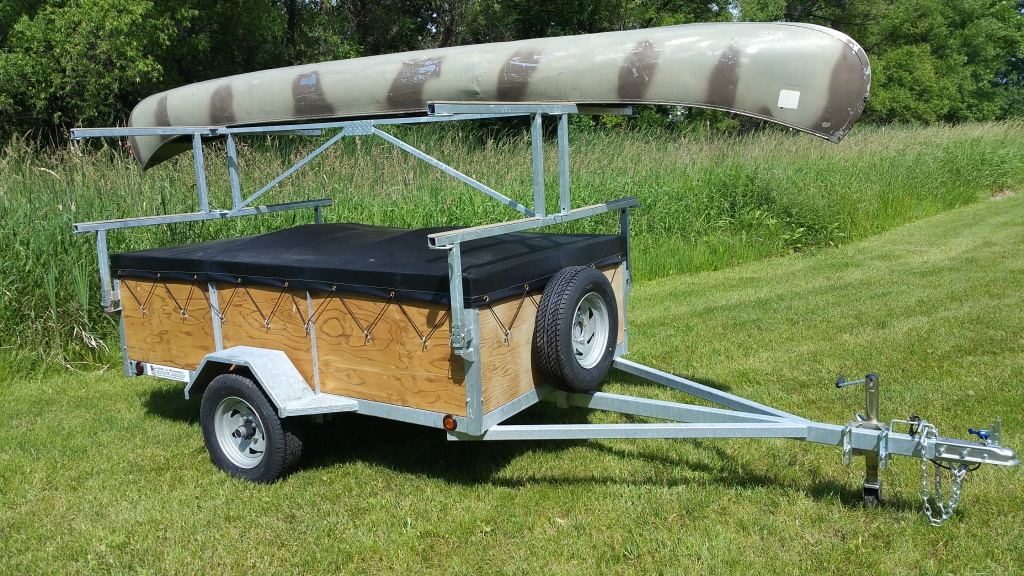 4 Place Kayak Amp Canoe Utility Trailers For Sale Remackel