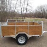 Custom trailer for moving your kid into college